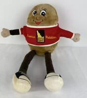 Famous Idaho Potato Spuddy Buddy Plush Doll Toy Stuffed Animal 18 In Red T-Shirt
