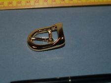 BUCKLE belt or strap 3/4 inch 20mm gilt gold hardware repair new