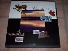 CANADA 95 Souvenir Collection Book of 1995 Postage Stamps