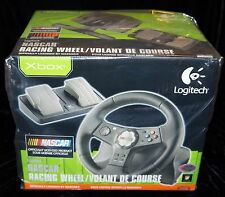 (RB66) Logitech NASCAR RACING WHEEL OFFICIALLY LICENSED BY NASCAR DUAL VIBRATION