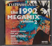THE 1992 MEGAMIX volume 2 CD TURN UP THE BASS