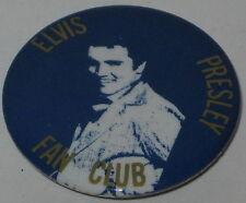 """Elvis Presley Fan Club Pin 1956 1.75"""" New/Old Stock"""