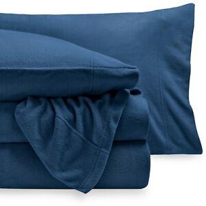 Super Soft Fleece Sheet Set - Deep Pocket - Cozy - All Season - Breathable