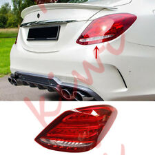 Rear Right Side LED Tail Light Assembly For Mercedes-Benz W205 C-Class 2015-2018