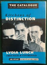 LYDIA LUNCH ~ Oral Fixation Flexi w/ The Catalogue Magazine #70 1989