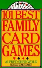 NEW - 101 Best Family Card Games by Sheinwold, Alfred