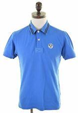 NORTH SAILS Mens Polo Shirt Medium Blue Cotton Slim Fit  MG13