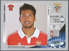 PANINI UEFA CHAMPIONS LEAGUE 2012-13- #466-BENFICA-EZEQUIEL GARAY