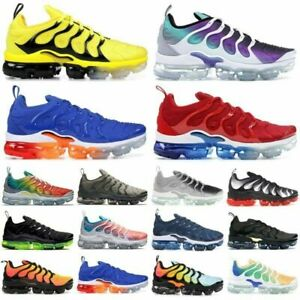 2019 Womens Mens TN Vapor Running Shoes Air Cushion VM Metallic Trainer Sneaker