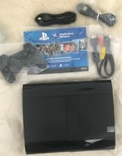 PS3 Sony PlatStation 3 Console + Dual Shock Controller Brand New 12GB Slimline