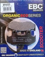 EBC/SFA323 Brake Pads (Front) - HONDA SH 125 SH125 REAR DRUM MODEL 2001 - 2008