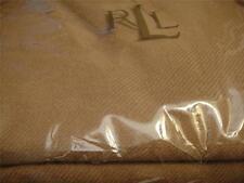 Ralph Lauren Border Camel Wool  Full Queen Bed Blanket New