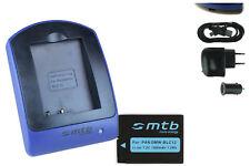 Chargeur+Batterie (USB) DMW-BLC12/BLC12E pour Panasonic Lumix DMC-FZ200, G5