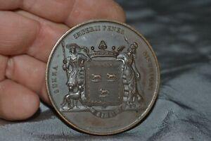 Médaille ancienne Au Lieutenant Général BARON PETIT - BOURGES 22 Juillet 1937