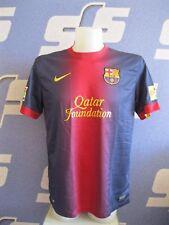 FC Barcelona 2012/2013 home Size L Nike shirt jersey maglia trikot Barca Unicef