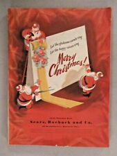 Sears CATALOG - Christmas, 1946 ~~ toy, toys