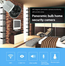 HD 1080P Wireless Hidden Spy Light Bulb Security IP Camera WiFi Cam Night Vision