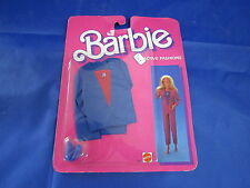 T049 MATTEL BARBIE ACTIVE FASHIONS HABIT CHAUSSURE 1985 REF 2185 NSB