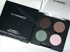 NIB MAC Eyeshadow Quad/Palette ~ FREE TO BE EYES 4 ~ Naturally Eccentric RARE LE