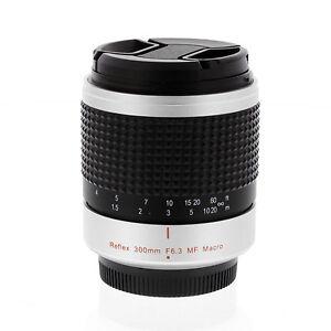 300mm F6.3 Tele Mirror Lens fo micro 4/3 camera Panasonic Lumix DMC-GX7 DMC-GF6