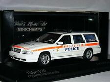 Minichamps 1998 Volvo V70 Swiss Police (Gendarmarie Vaudoise) LTD ED 1/43