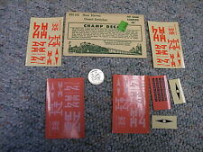 Champ decals HO EH-101 New Haven diesel switcher J12