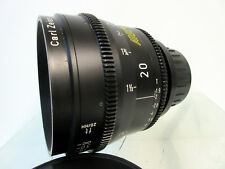 Arri Zeiss 20mm Ultra Prime Distagon T1.9 Lens Arriflex Feet Scale