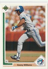 Ken (KENNY) Williams Blue Jays Outfield / 3B 1991 Upper Deck # 89 6 yrs in MLB