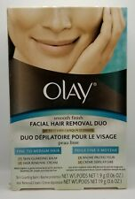 Olay Smooth Finish Facial Hair Removal Duo Fine to Medium Hair New Sealed