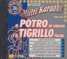 El Potro De Sinaloa Y El Tigrillo Palma  Karaoke NewSEALED