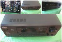 VINTAGE ONKYO TX-DS555 Audio Video Surround Amplifier Receiver Dolby Labs Amp