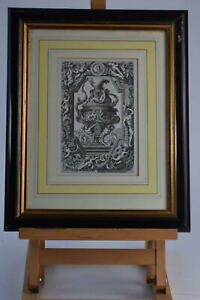 Vintage Etching Beautiful Picture Sculpture From Dorchester Hotel London Framed