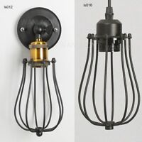 Retro Pendant Lamp Metal Ceiling Vintage Industrial Fitting /Wall Sconce Light