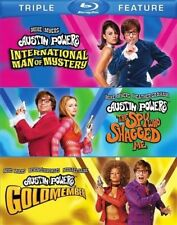 AUSTIN POWERS TRIPLE FEATURE New Sealed Blu-ray Mike Meyers