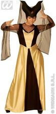 XL Maleficent Costume Enchanted Castle Queen Ladies Snow White Fancy Dress