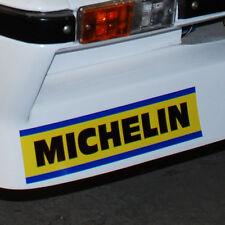 MICHELIN 1 Paio Adesivi Decalcomanie 346mm RALLY Chevette ALPINE RENAULT A110 A310