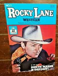 Rocky Lane Western #1, (1989, AC Comics): The Case of the Green Mask!