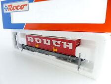 ROCO 46368 SNCF WAGON POCHE UNIFIES DE LA SEGI CAISSE ROUCH