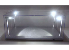 Triple 9 189922 Stackable Display Case with LED Lights (Silver) 1:18 Scale Cars