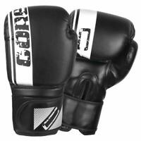 Leather Boxing Gloves Sparring Training Punching Bag Kickboxing Gloves CORE