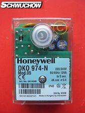 1 Feuerungsautomat Honeywell Satronic DKO 974 Mod. 5 Ölfeuerungsautomat TF 834.2