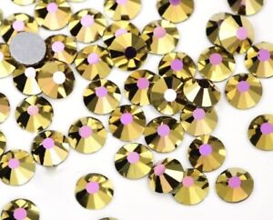 SS16-S30 DMC Crystal AB 12 FACETS Glass Flatback - Non Hotfix Rhinestones