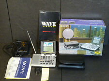 SONY ICF-SW07 RECEIVER RARE VINTAGE BOXED EXCELLENT