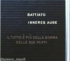 BATTIATO - Inneres Auge  - CD digipack