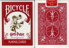 CARTE DA GIOCO BICYCLE HARRY POTTER,poker size