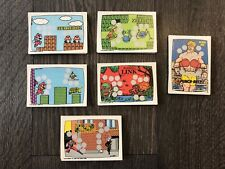 Vintage 1989 O-pee-chee Nintendo Scratch Off Cards, Full Set of 60