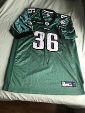 Philadelphia EAGLES #36 WESTBROOK Football Jersey SIGNED BY TWO PLAYERS #34 & 35