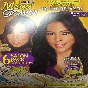 PROFECTIV Mega Growth Therapeutic No-Lye Regular Relaxer 6 Touch Up