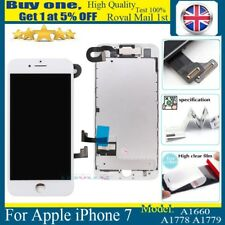 For iPhone 7 Complete LCD Screen Touch Replacement Digitizer Camera White 4.7''