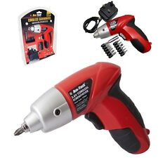 3.6V ELECTRIC RECHARGEABLE BATTERY CORDLESS SCREWDRIVER DRILL SET BITS 1Y warnty